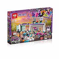 """Конструктор Lepin 01071 """"Мастерская по тюнингу автомобилей"""" (аналог Lego Friends 41351), 462 детали, фото 1"""