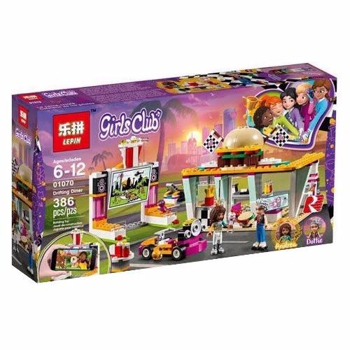 """Конструктор Lepin 01070 """"Передвижной ресторан"""" (аналог Lego Friends 41349), 386 деталей"""