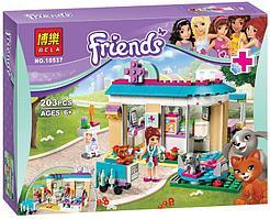 """Конструктор Bela Friends 10537 """"Ветеринарная клиника"""" (аналог LEGO Friends 41085), 203 деталей"""