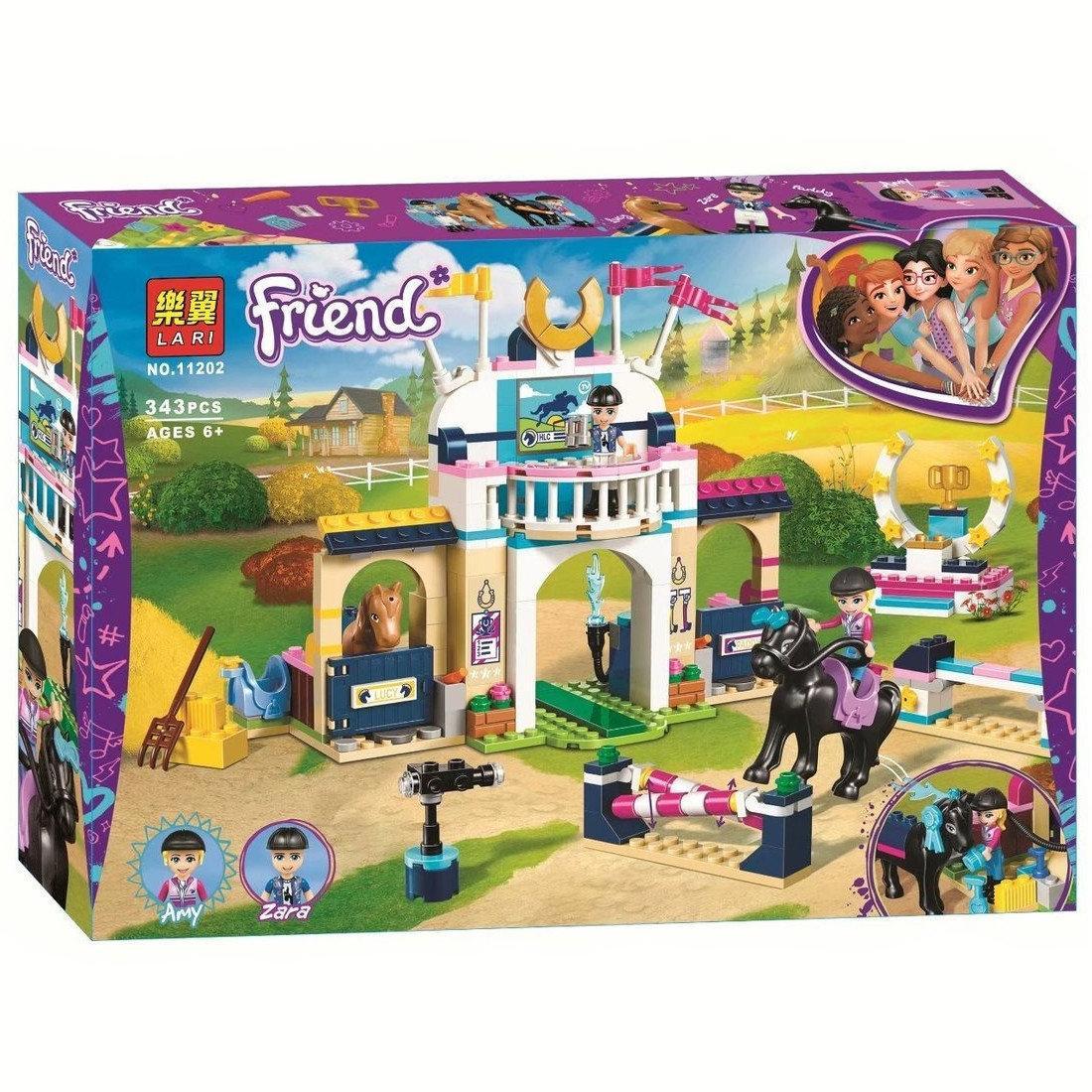 "Конструктор Bela (Lari) 11202 ""Стефані на скачках"" (аналог Lego Friends 41367), 343 детали"