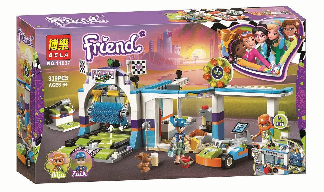 """Конструктор Bela 11037 """"Автомойка"""" (аналог Lego Friends 41350), 339 деталей"""