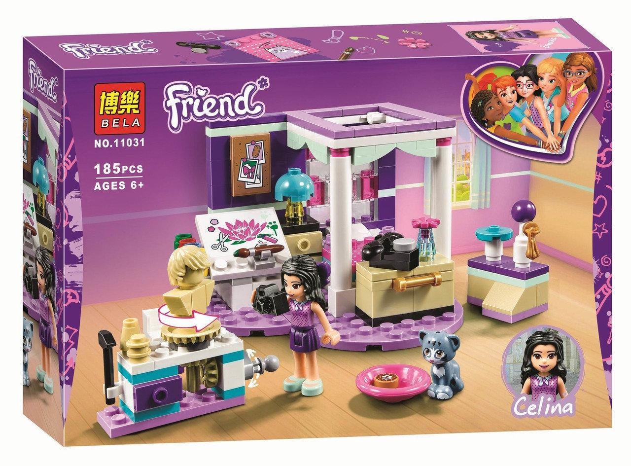 "Конструктор Bela 11031 ""Роскошная комната Эммы"" (аналог Lego Friends 41342), 185 деталей"