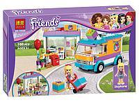 "Конструктор Bela Friends 10608 ""Служба доставки подарков"" (аналог Lego Friends 41310), 188 деталей, фото 1"