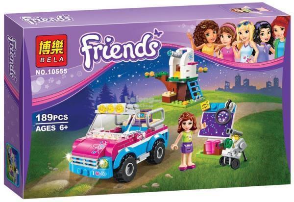 "Конструктор Bela Friends 10555 ""Звездное небо Оливии"" (аналог LEGO Friends 41116), 189 деталей"