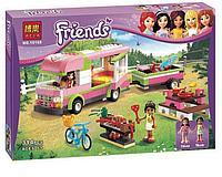 """Конструктор Bela Friends 10168 """"Оливия и домик на колёсах"""" (аналог LEGO Friends), 309 деталей, фото 1"""