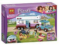 """Конструктор Bela Friends 10561 """"Ветеринарная машина для лошадок"""" (аналог LEGO Friends 41125), 387 деталей, фото 1"""