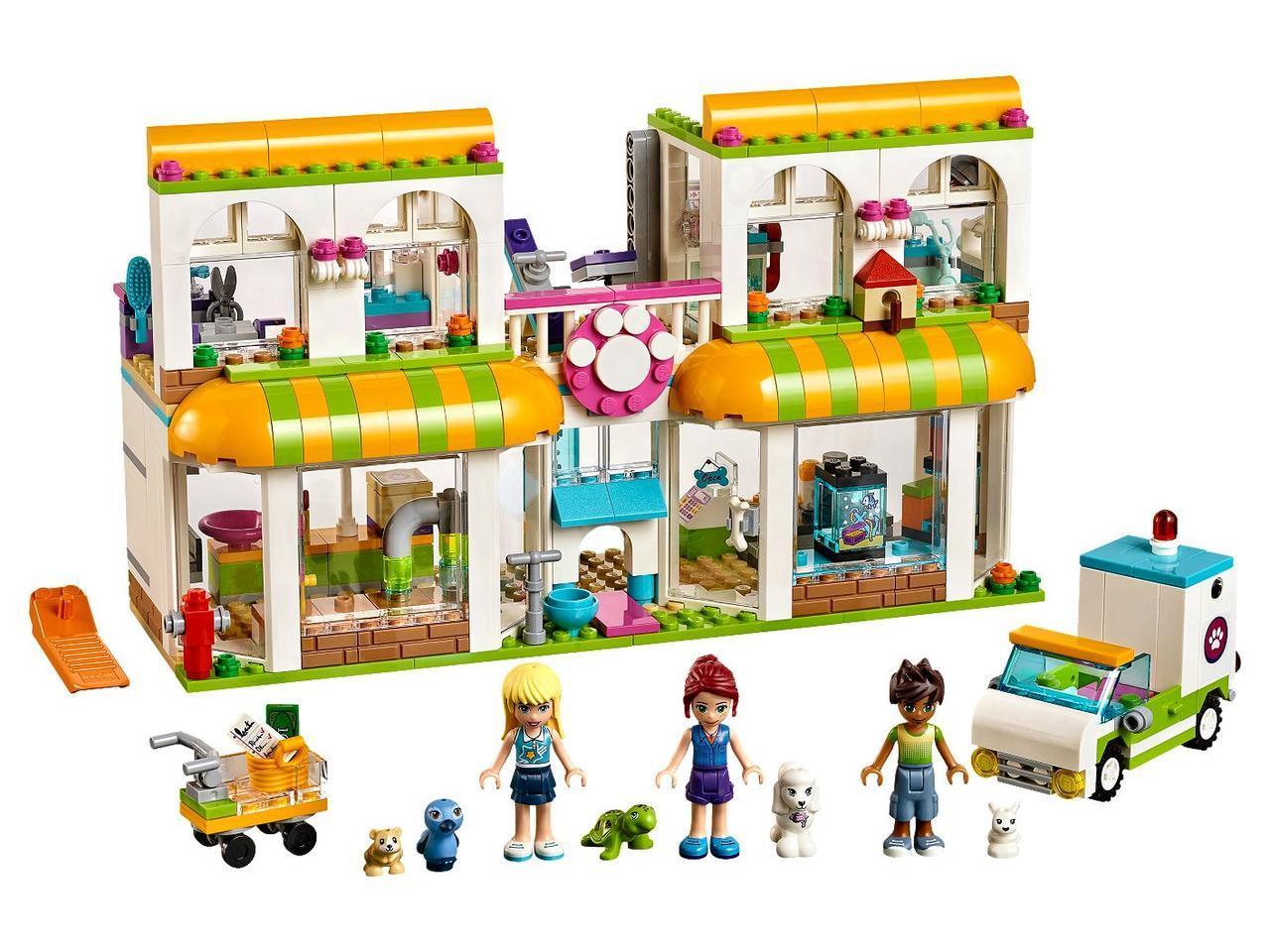 "Конструктор Friends SY1153 ""Центр по уходу за домашними животными"" (аналог Lego Friends 41345), 545 деталей"