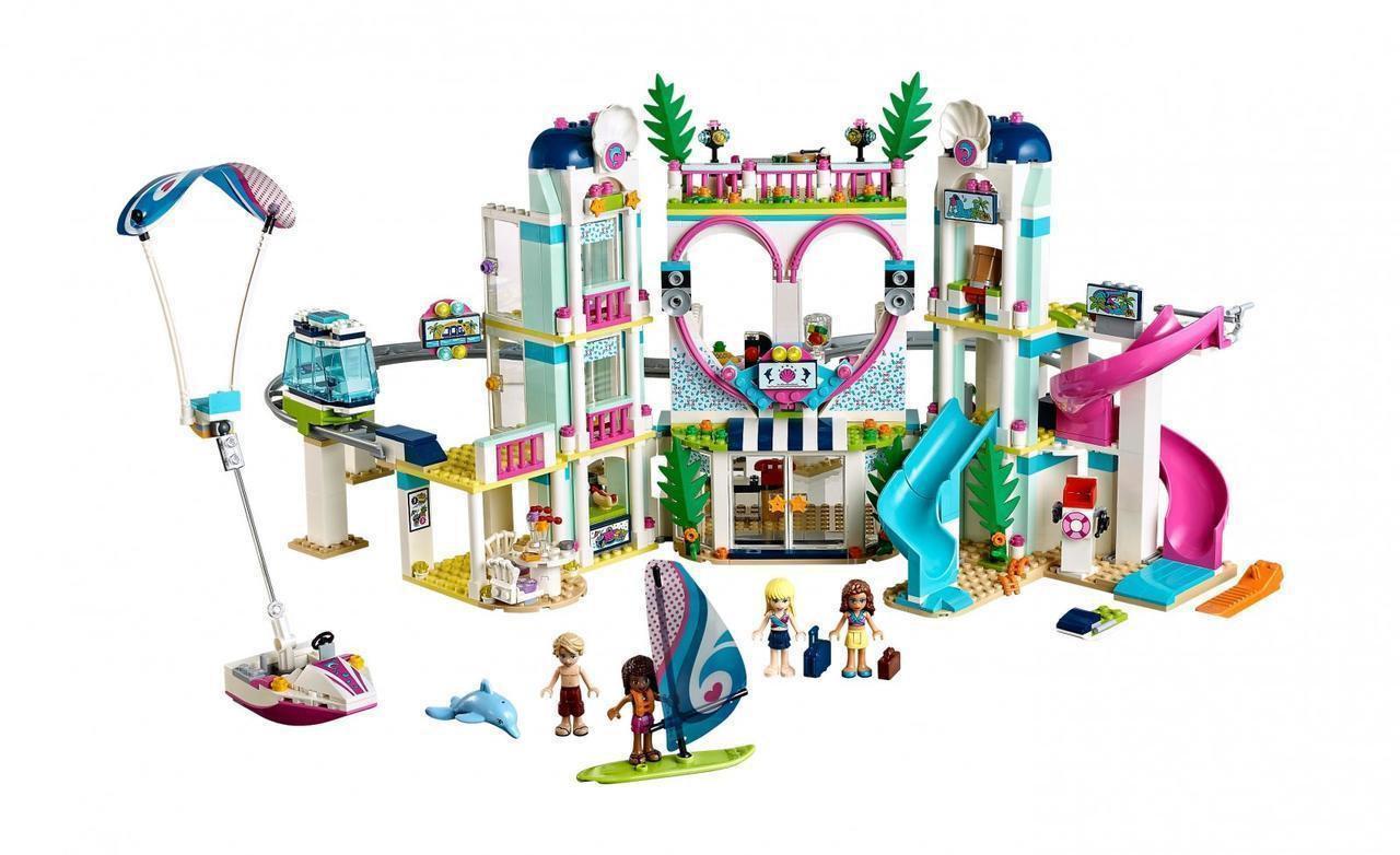 "Конструктор SY 1155 ""Курорт Хартлейк Сити"" (аналог Lego Friends 41347), 1150 деталей"