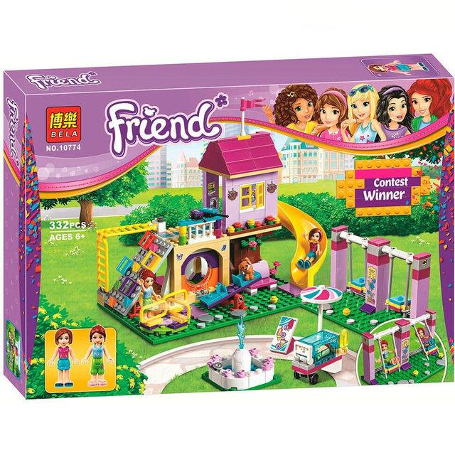 """Конструктор Bela 10774 """"Игровая площадка Хартлейк Сити"""" (аналог LEGO Friends 41325), 332 детали"""