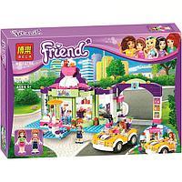 """Конструктор Bela 10759 """"Магазин замороженных йогуртов"""" (аналог LEGO Friends 41320), 376 деталей, фото 1"""