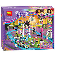 """Конструктор Bela Friends 10563 """"Парк развлечений: Американские горки"""" (аналог LEGO Friends 41130), 1136 деталей, фото 1"""