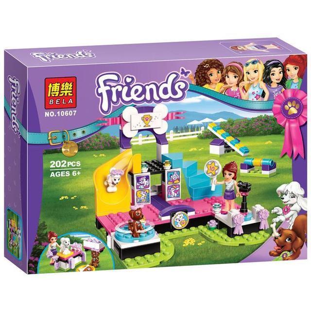 """Конструктор Bela Friends 10607 """"Выставка щенков: Чемпионат"""" (аналог Lego Friends 41300), 202 детали"""