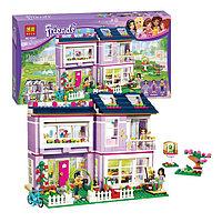"""Конструктор Bela Friends 10541 """"Дом Эммы"""" (аналог LEGO Friends 41095), 731 деталь, фото 1"""