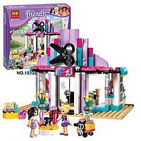 """Конструктор Bela Friends 10539 """"Парикмахерская в Хартлейке"""" (аналог LEGO Friends 41093) 341 деталь, фото 1"""