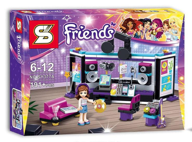 """Конструктор Bela Friends SY377A """"Студия звукозаписи"""" (аналог Lego 41103) 191 деталь"""