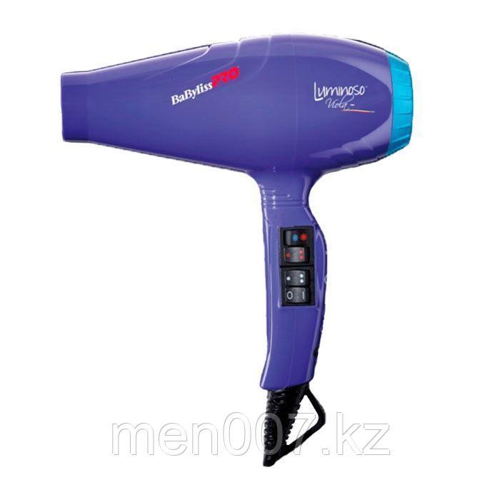 """Фен """"LUMINOSO VIOLA"""" - 2100W, с генератором отрицательных ионов для лечения волос и снятия статического заряда"""
