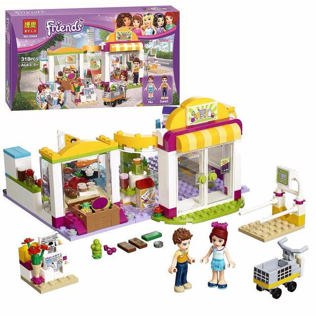 "Конструктор Bela Friends 10494 ""Супермаркет"" (аналог LEGO Friends 41118), 318 деталей"