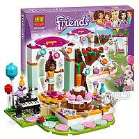 """Конструктор Bela Friends 10492 """"День рождения"""" (аналог LEGO Friends 41110), 194 детали, фото 1"""