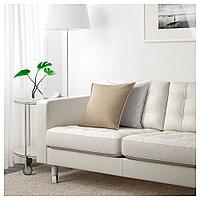 ЛАНДСКРУНА 3-местный диван-кровать, Гранн, Бумстад белый/металл, фото 1