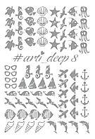 Трафареты ArtiForYou Deep #8