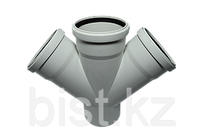 Крестовина одноплоскостная канализационная 50х50х50/45 ПП