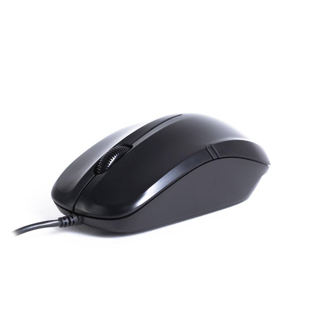 Мышь оптическая Delux DLM-136OUB (Black)