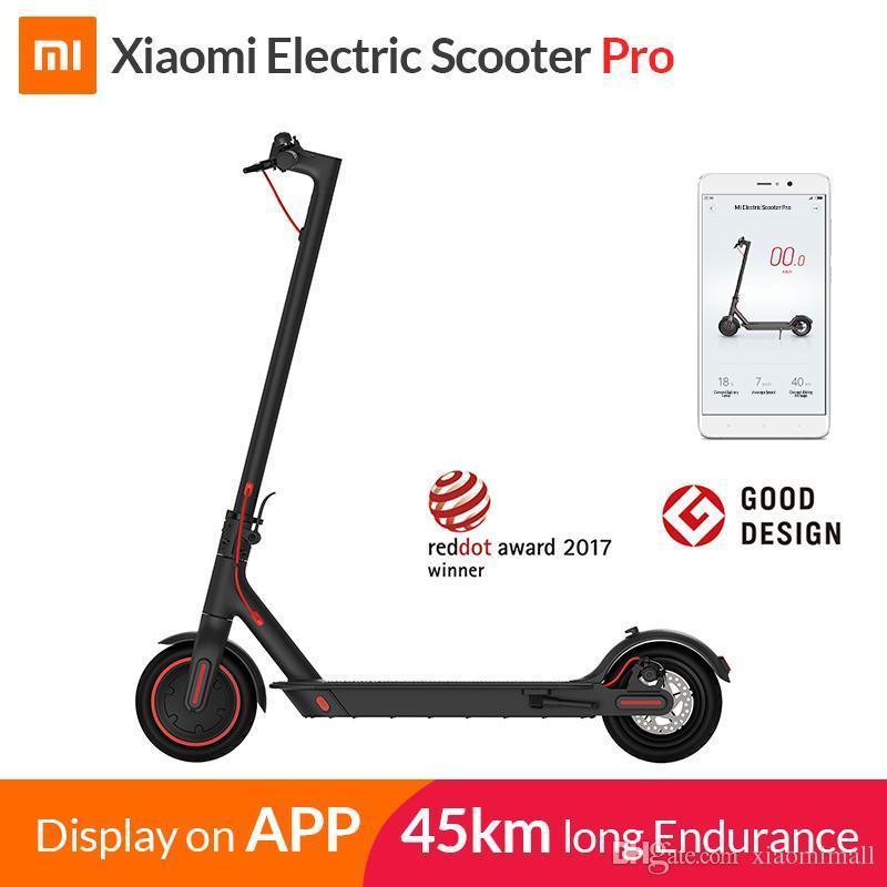 Электросамокат Xiaomi M-365 PRO version 12800 mAh черный оригинал - фото 1