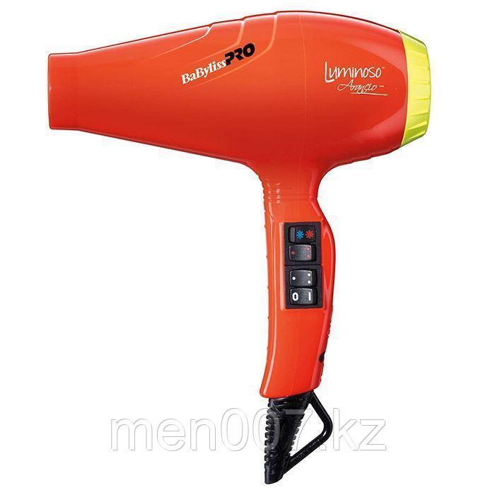 """Фен """"LUMINOSO ARANCIO"""" -2100W, с генератором отрицательных ионов для лечения волос и снятия статического заряд"""