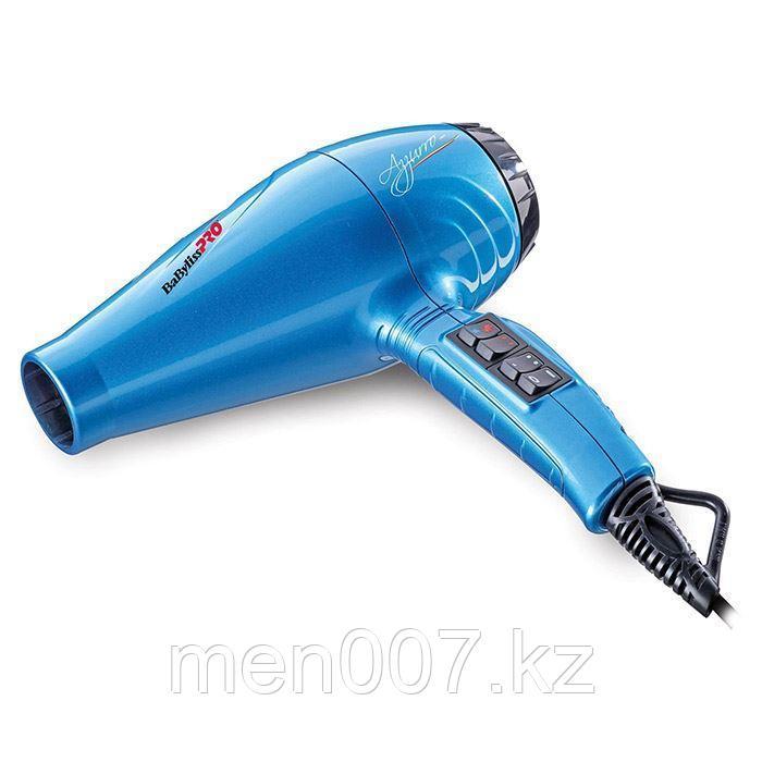 """Фен """"LUMINOSO AZZURRO"""" -2100W, с генератором отрицательных ионов для лечения волос и снятия статического заряд"""