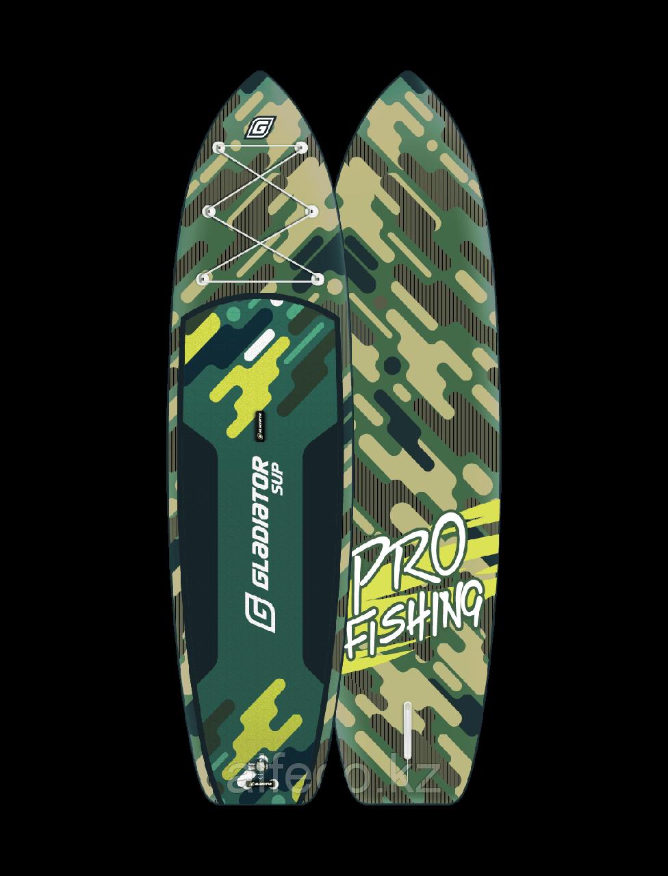 Надувная доска для сап-бординга Gladiator FISHING PRO 12,6 2020