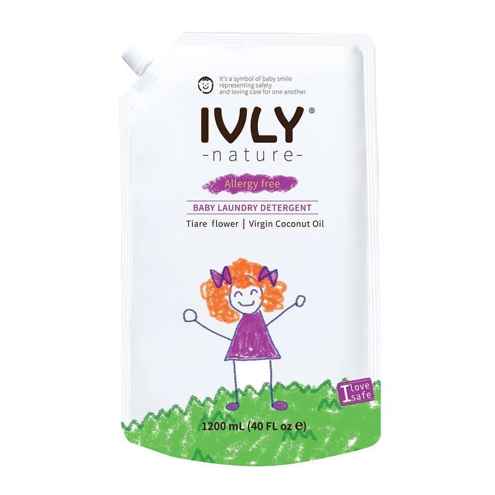 IVLY Nature Гипоаллергенное средство для стирки детской одежды Цветок Тиары и Кокос 1200 мл.