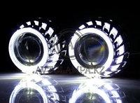 F2S Маска 2.5 inch Epistar LED глаза ангела W+W(гар-тия 6 мес) (комп-т)