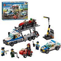 """Конструктор Bela 10658 """"Ограбления трейлера автовоза"""" (аналог Lego City 60143), 427 деталей"""