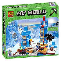 """Конструктор Bela 10621 Minecraft """"Ледяные шипы"""" (аналог Lego 21131) 460 деталей"""