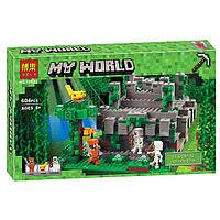 "Конструктор Minecraft Bela 10623 ""Храм в джунглях"" (аналог Lego Майнкрафт, Minecraft 21132), 604 детали"