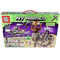 """Конструктор SY 974 (Аналог Lego Minecraft) """"Месть черной вдовы"""", 830 деталей"""