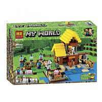 "Конструктор Bela 10813 ""Фермерский коттедж"" (аналог Lego Майнкрафт, Minecraft 21144), 560 деталей"