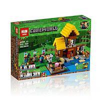 "Конструктор Lepin 18039 ""Фермерский коттедж"" (аналог Lego Майнкрафт, Minecraft 21144), 615 деталей"
