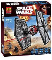 Конструктор Bela 10465 (аналог LEGO Star Wars 75101) TIE Истребитель особых войск Первого Ордена, 548 деталей, фото 1