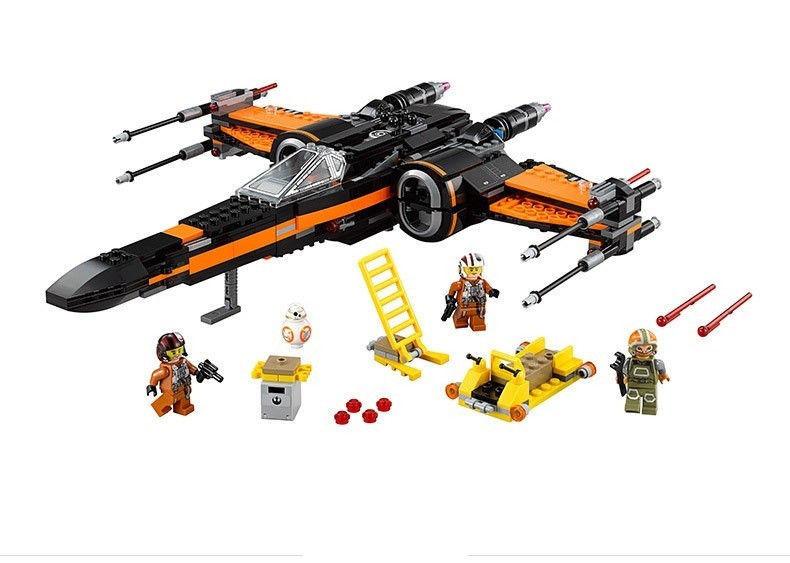 Конструктор Bela 10466 (аналог LEGO Star Wars 75102) X-Wing истребитель Поу, 742 детали