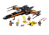 Конструктор Bela 10466 (аналог LEGO Star Wars 75102) X-Wing истребитель Поу, 742 детали, фото 1
