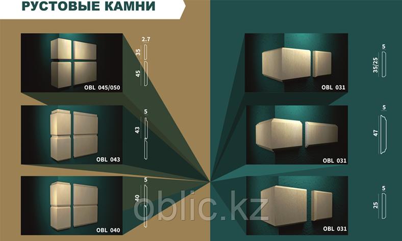 Рустовые камни для отделки фасадов OBL 0145/050, фото 2