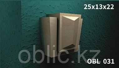 Замковый камень для фасада OBL 039