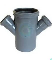 Крестовина одноплоскостная канализационная 110х50х50/45 ПП