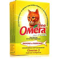 Омега Neo для кошек с морскими водорослями - 90 табл.