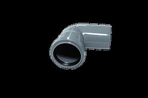 Отвод канализационный 50х90гр ПП