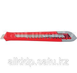 Нож, 9 мм, выдвижное лезвие, корпус ABS-пластик// Matrix 78927 (002)