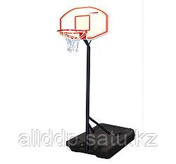 Стойка баскет. мобильная (щит 60*80) пластик