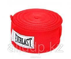 Боксерский бинт EVERLAST красный 2 штуки 3.3 м