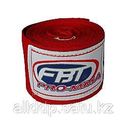 Боксерский бинт FBT красный 2 штуки 3.3 м